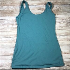 Maurices Teal Scoop Neck Layering Tank